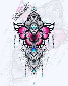 Discover recipes, home ideas, style inspiration and other ideas to try. Mandala Tattoos For Women, Mandala Flower Tattoos, Mandala Tattoo Design, Tattoo Design Drawings, Henna Tattoo Designs, Flower Tattoo Designs, Tattoo Designs For Women, Lotus Mandala Design, Lotus Mandala Tattoo