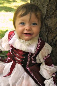 Renaissance Gown Custom Infant Girls Dress