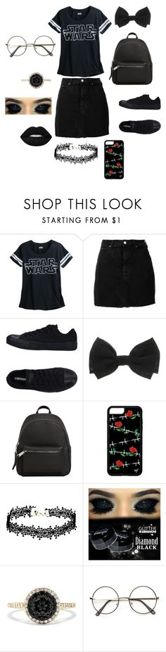"""""""STAR WARS GIRL"""" by reka15 on Polyvore featuring IRO, Converse, MANGO and Effy Jewelry"""