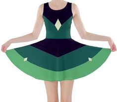 Hey, I found this really awesome Etsy listing at https://www.etsy.com/listing/243149522/peridot-steven-universe-inspired-dress