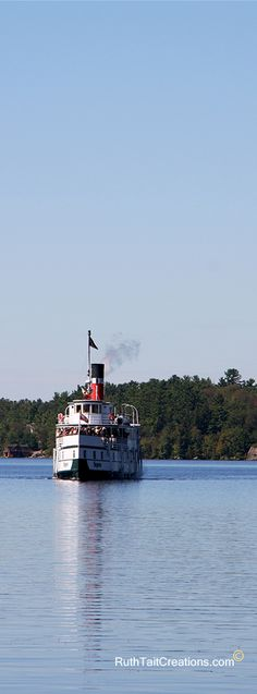 RMS Segwun, North America's oldest operating steamship, Gravenhurst, Muskoka Three Lakes, Algonquin Park, Canada 150, Indian River, Travel Magazines, Largest Countries, Lake Life, Great Lakes, Vacation Spots