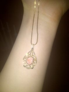 old necklace I found in my house <3