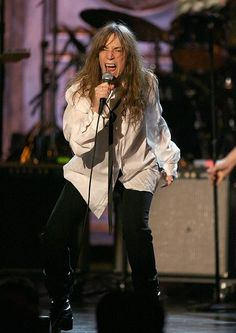 The Rock and Roll Hall of Fame Inductees, 1986 - 2014 Pictures - Patti Smith 2007 Inductee | Rolling Stone