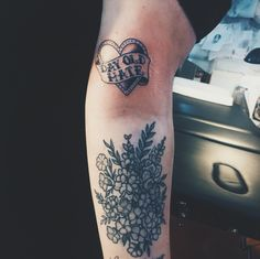 headinthesannd: got this lovely city and colour tattoo last week of my favourite song
