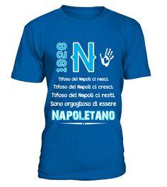 T-Shirt Napoli Napoletano si nasce Napoli 1926 Amore Infinito NAI 1926