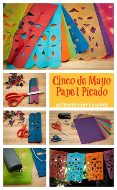 it's cinco de mayo! artmousehouse.com brings you the history of this holiday along with a traditional mexican folk art project to teach about the heritage and culture of mexican history.