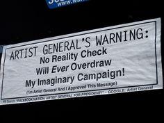https://flic.kr/p/9NG9kA | Artists General's Warning, San Francisco, CA…