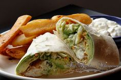 Californian Cod Wrap, baked cod, slaw, avocado, protein, epicurious, fast lunch, healthy
