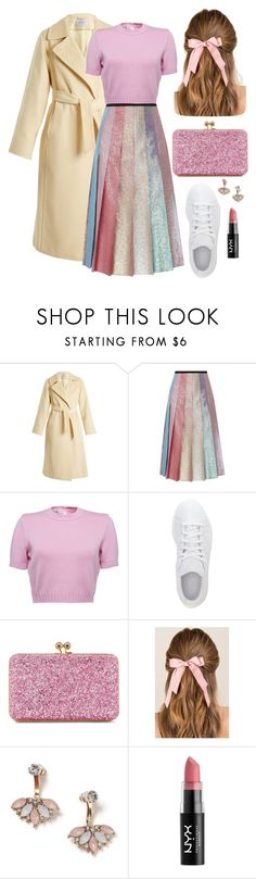 """Gucci Outfit"" by style-by-k ❤ liked on Polyvore featuring MaxMara, Gucci, adidas, Sophie Hulme, Francesca's, Miss Selfridge and NYX"