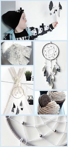 Dream Big Little One - This grey dream catcher is one of our best sellers!