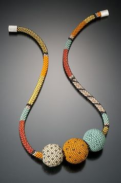 This necklace is featured in Suzanne Golden Presents by Lark Books