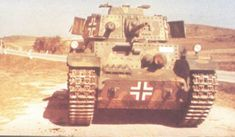 Turan- Derived from the Skoda LT vz.35 Hungary WW2