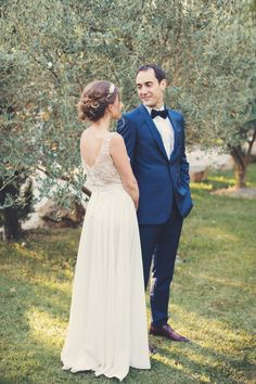 Photography: Anne-Claire Brun - www.anneclairebrun.com  Read More: http://www.stylemepretty.com/destination-weddings/france-weddings/2015/02/19/rustic-summer-wedding-in-the-south-of-france/