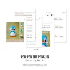 Pen-Pen the Penguin amigurumi pattern - Amigurumipatterns.net