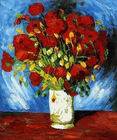 Van Gogh - Poppies - overstockArt.com