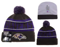 18f59d140cd NFL Baltimore Ravens New Era Beanies Sports Knitted Caps Hats