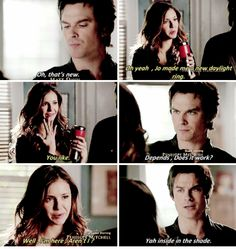 "#TVD 6x12 ""Prayer For the Dying"" - Damon and Elena"