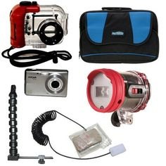 Special Offers - INTOVA Digital Waterproof Camera  Deluxe Kit - In stock & Free Shipping. You can save more money! Check It (March 30 2016 at 12:50PM) >> http://wpcamera.net/intova-digital-waterproof-camera-deluxe-kit/