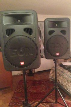 JBL EON 15 G2 Powered Speakers (PAIR)