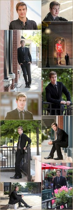 Senior pictures, Click for more -boys, guys, football, film, comic books, outfits, urban, country, park, home school, posing, poses, expressions,outdoor, unique, sports, ideas, props, suit, guy style, bridge, brick walls, lighting