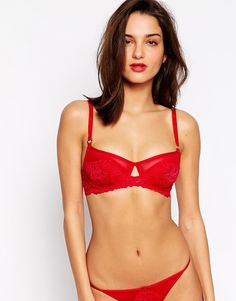 The Intimate Collection By Britney Spears Cherry Three Quarter Cup Padded Bra at ASOS. Shop this season's must haves with multiple delivery and return options (Ts&Cs apply). Britney Spears, Lingerie Set, Women Lingerie, Valentines Lingerie, Asos, Victoria Secret Lingerie, Beautiful Outfits, Beautiful Clothes, Mix Match