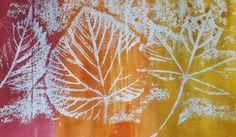 Netradičná frotáž listov - Spolu poza školu Art Classroom, Art Lessons, Dandelion, Abstract, Fall, Flowers, Artwork, Trees, Art Kids