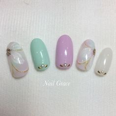 Instagramのネイル画像を自動でピンする。 Nail Designs, Pearl Earrings, Jewels, Nails, Beautiful, Instagram, Nail Desings, Jewelery, Jewelry