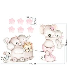 Hello Kitty, Teddy Bear, Toys, Animals, Fictional Characters, Art, Wall Papers, Vinyls, Murals
