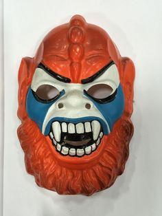 Beastman Vintage Collegeville Ben Cooper Halloween Mask Heman Vacuform MOTU   eBay