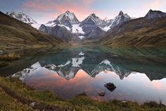 Carhuacocha Sunset : Cordillera Huayhuash, Peru : Mountain Photography by Jack Brauer Oh The Places You'll Go, Places To Travel, Places To Visit, National Geographic Fotos, Wonderful Places, Beautiful Places, Beautiful Scenery, Amazing Places, Portugal