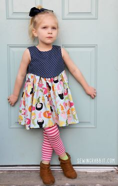 Madeline Dress, Free Pattern - sizes 2T thru 6                                                                                                                                                                                 More