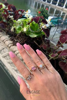 Customize your engagement ring in the Engage app or at www.engagejeweler.com. #diamondring #engagementring #diamond #summerstyle #bridaljewelry #weddingjewelry #womensjewelry #accessories #ringstyle #ringtrends #jewelrytrends #engagementinspiration #proposalinspo #proposalplanning #engagementtrends #weddingtrends #weddinginspiration #weddingplanning #yellowgold #goldjewelry #gemstonerings #engagementmanicure Wedding Jewelry, Gold Jewelry, Women Jewelry, Engagement Inspiration, Wedding Inspiration, Wedding Trends, Jewelry Trends, Fashion Rings, Diamond Engagement Rings