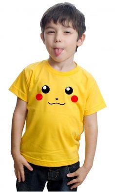 Camiseta Pikachu.  http://www.camisasgeeks.com.br/p-25-267-2148/Camiseta---Pikachu-03