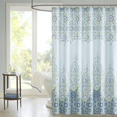 Found it at Wayfair - Cotton Sarita Shower Curtain