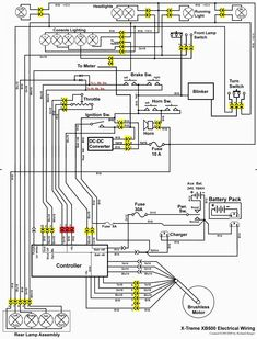 Scooter Wiring Diagram : scooter, wiring, diagram, Scooter, Wiring, Diagram, Ideas, Scooter,, Chinese, Scooters,, Motorcycle