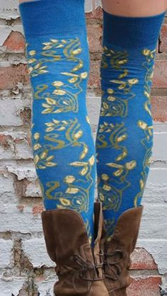 Sweet Marcel Over-the-Knee Socks by fashion designer Amy Anderson.