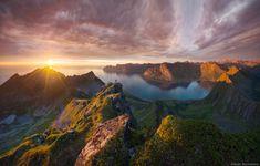 Midnight sun by Daniel Korzhonov
