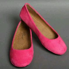 Pink Flats Shoes