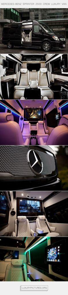 Mercedes-Benz Sprinter 2500 Crew Luxury Van | Luxury Pictures jetzt neu! ->. . . . . der Blog für den Gentleman.viele interessante Beiträge  - www.thegentlemanclub.de/blog