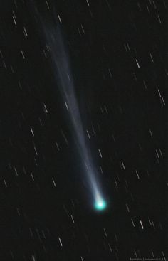 Espectaculares fotografías: cola del cometa Ison es 21 veces la distancia entre La Tierra y La Luna | Meteorología por Luis Vargas