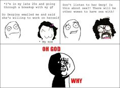 Rage Comics: Funny comics about Cereal Guy, Trolldad and many more memes!