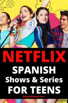 A long llist of the best Spanish shows on Netflix. Includes movies and Netflix series in Spanish for kids, teens, adults and families. Spanish Music, Spanish Language Learning, Learn A New Language, How To Speak Spanish, Spanish 1, Learn Spanish, Spanish Class, Netflix Kids, Shows On Netflix