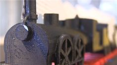 From literary description to 3D object: Yale students 3D print train from classic French novel