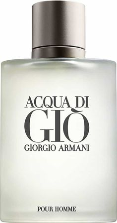 Acqua Di Gio by Giorgio Armani Eau De Toilette For Men Giorgio Armani, Armani Men, Green Tangerine, Clean Fragrance, After Shave, Luxury Beauty, Deodorant, Perfume Bottles, Pure Products