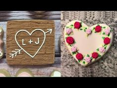 Valentine's Day Cookie Art Decorating   #Love CookiesDecorating Satisfying 2018 - YouTube
