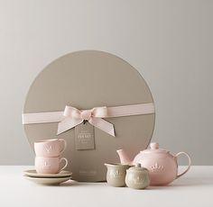 Porcelain Tea Set. dreamy.