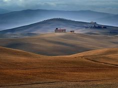 Tuscany, Italy    Photograph by Jure Kravanja, When I was driving last year through Tuscany, Italy, I suddenly saw this beautiful image.