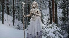 Emily and Tyler's Snow Queen, from season 11 of Face Off #fantasy #fairytale #snowqueen #faceoff