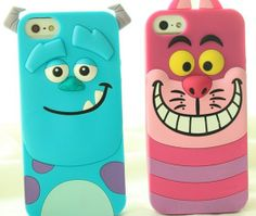 Dagnabit! Now I might just HAVE to get an iPhone--a Cheshire Cat case???? Love it!
