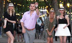 Diane Kruger & Joshua Jackson, Place des Lices, St Tropez